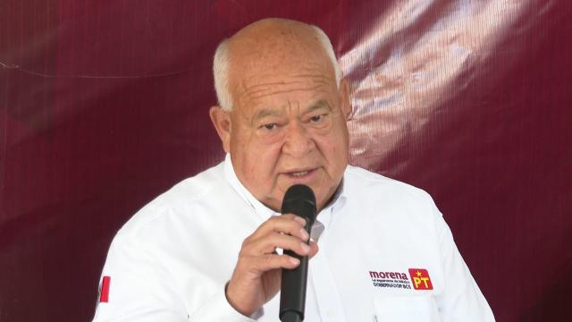 Víctor Castro, candidato a la gubernatura del estado