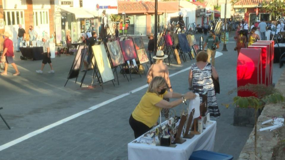 Viva la Plaza Festival in the Historic Center of CSL