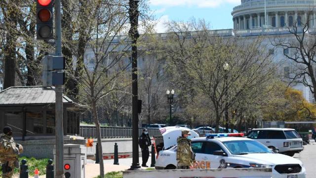 """Cierran Capitolio de EU por """"amenaza a la seguridad externa"""""""