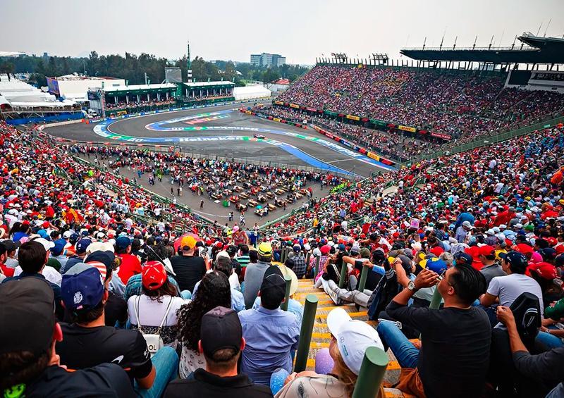 Fórmula Uno cancela GP Turquía; GP de México sigue firme