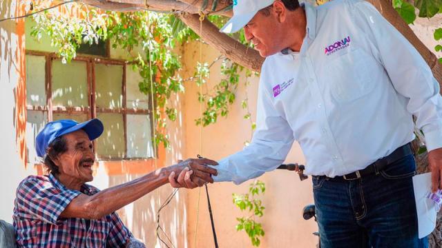En mi gobierno no habrá comunidades en el olvido: Adonai