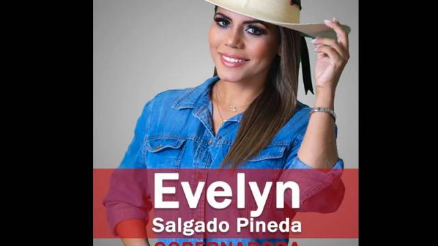 Avalan candidatura de Evelyn Salgado