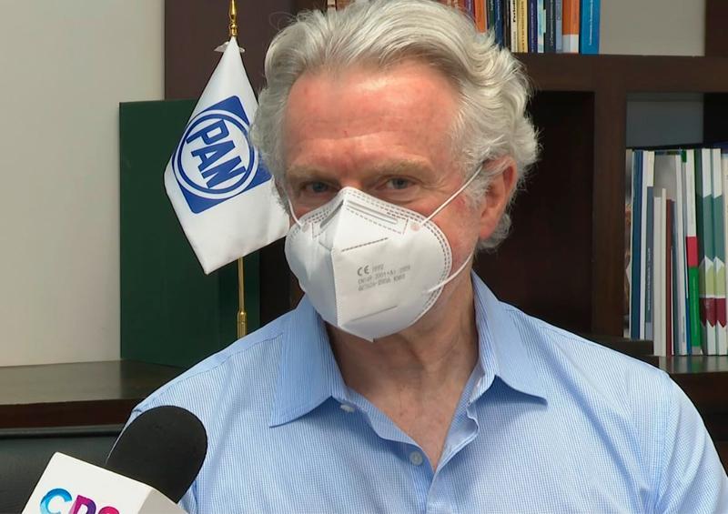 Santiago Creel visita BCS para apoyar a Francisco Pelayo