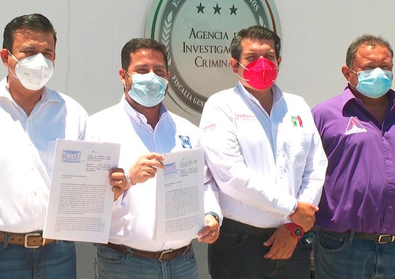 Alianza Unidos Contigo presenta 2 demandas contra Morena