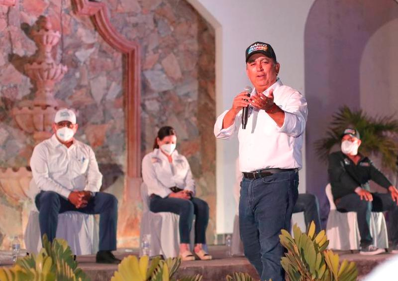 Trabajaremos en equipo con los Ayuntamientos: Pancho Pelayo