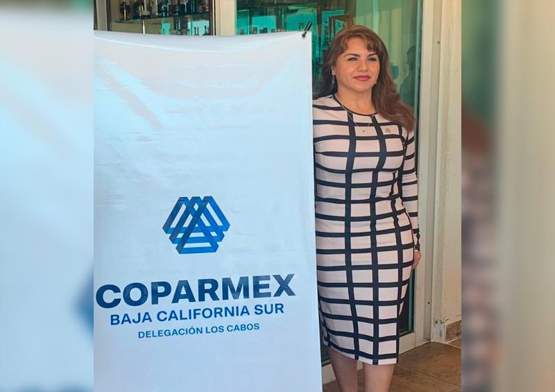 Fructífero encuentro el de Coparmex y Lupita Saldaña