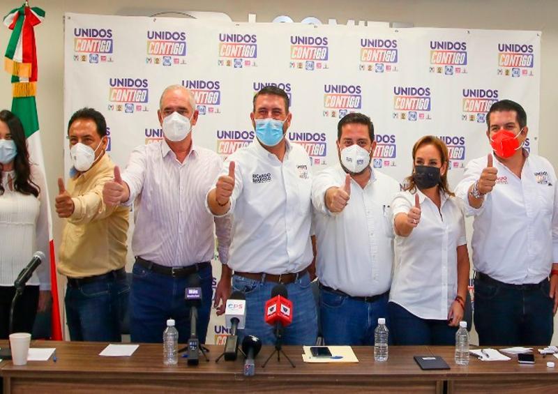 Senadores del PAN y PRI auguran triunfo de Ricardo Barroso