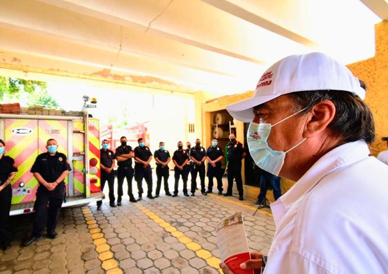 Bomberos de Los Cabos tendrán nuestro respaldo: Leggs