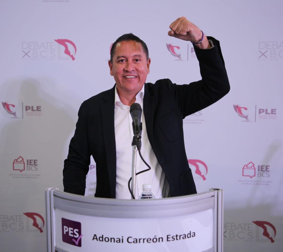 Candidato del PES