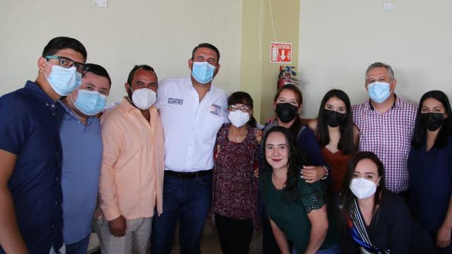 Compromete Ricardo Barroso Centro Municipal de Emergencias