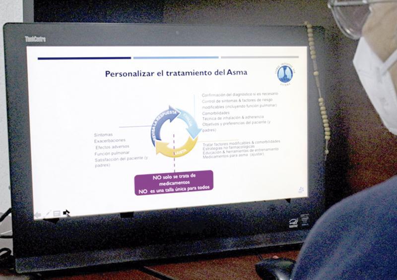 Capacitan en tratamientos de pacientes con asma: SSa