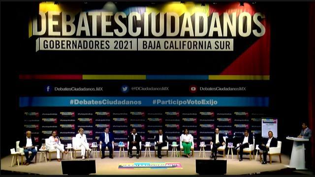 Debate de candidatura a la gubernatura