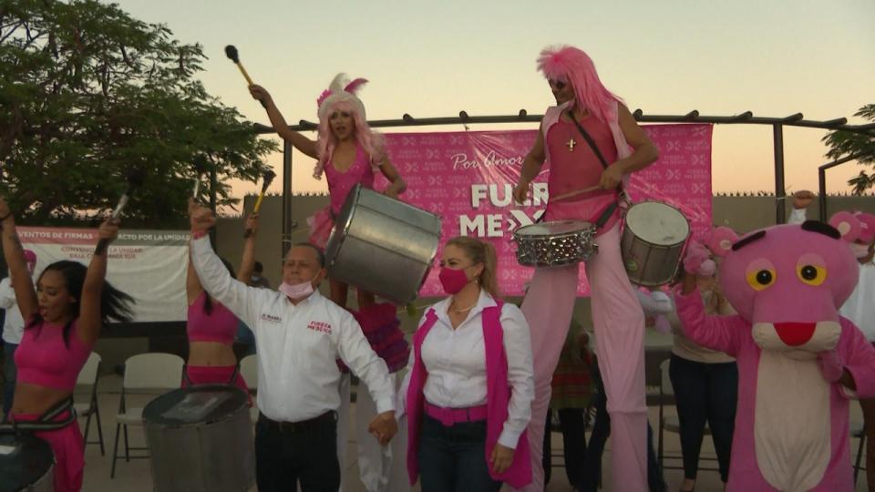 Candidato a la presidencia municipal por el partido Fuerza por México