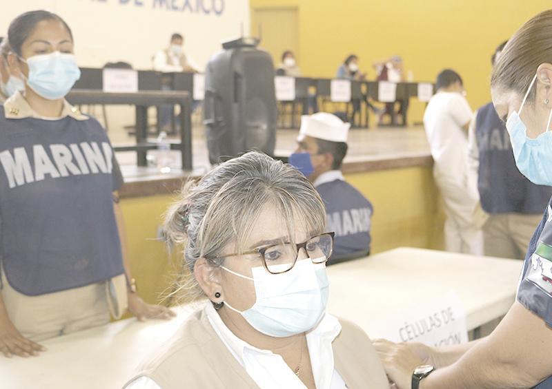 Simulacro de vacunación de Covid-19 para trabajadores