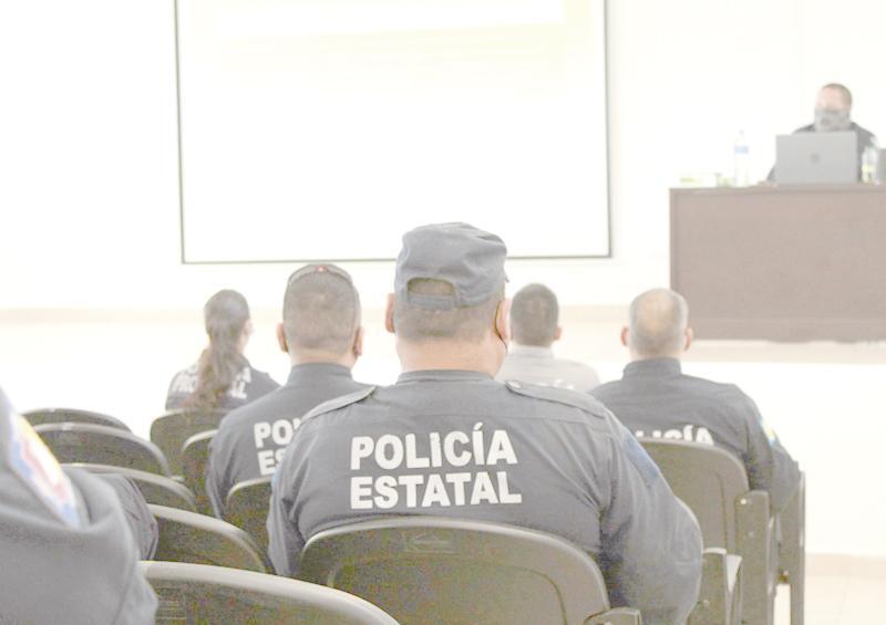 Agentes preventivos llevan a cabo jornada de entrenamiento