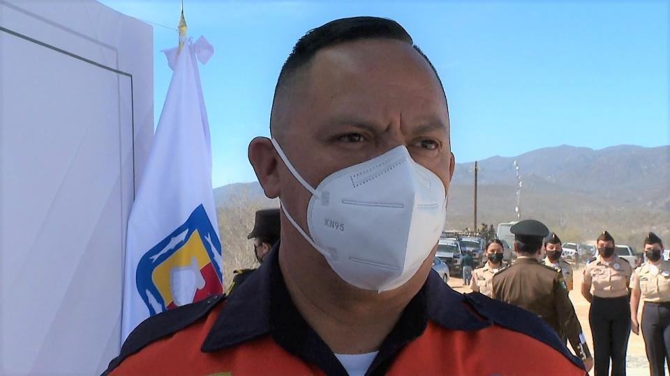 Director municipal de Protección Civil en Los Cabos
