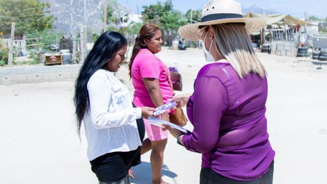 Impulsaremos energías renovables para BCS: Lorenia Montaño
