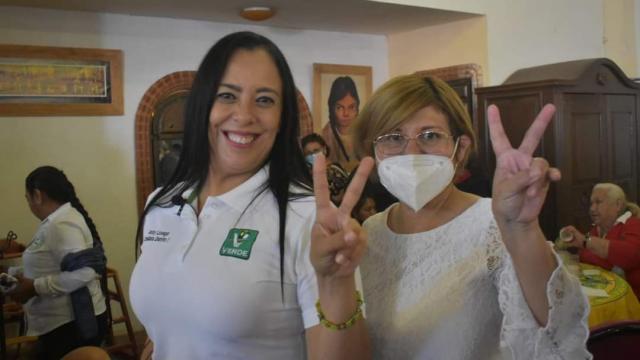 Candidata al Distrito I Local por el Partido Verde Ecologista
