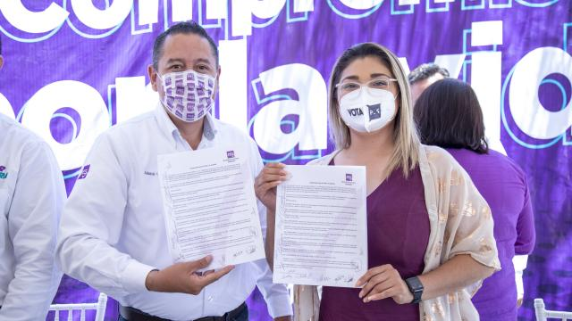Candidata por el Partido Encuentro Solidario