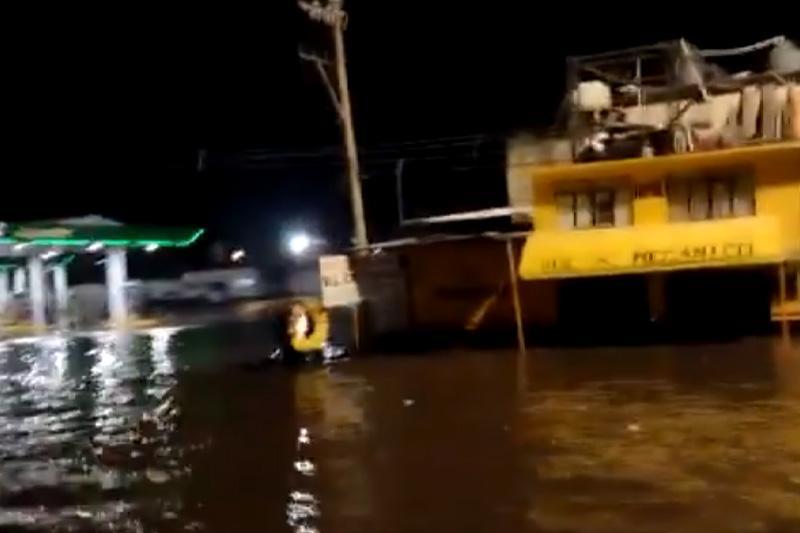 Inundaciones en Puebla