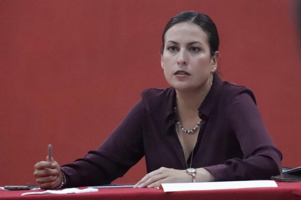 Candidata a la alcaldía de La Paz