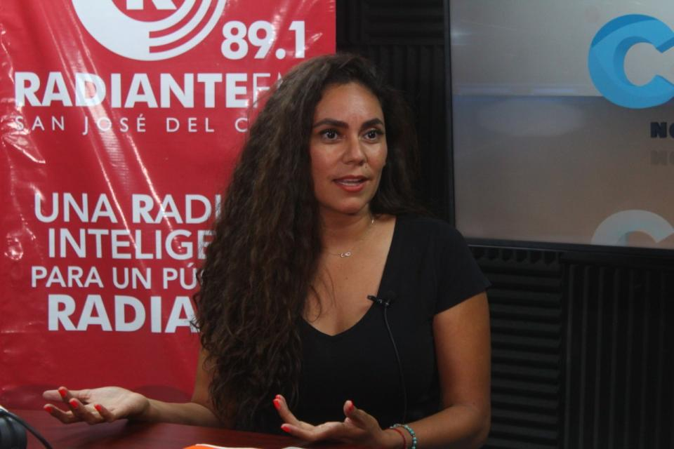 Candidata a diputada local por el distrito #01 del partido Movimiento Ciudadano