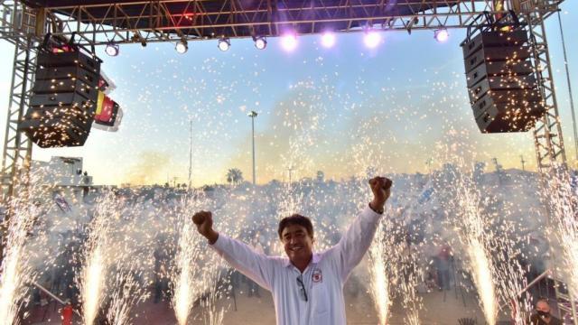 Candidato a la alcaldía de Los Cabos por Morena-PT