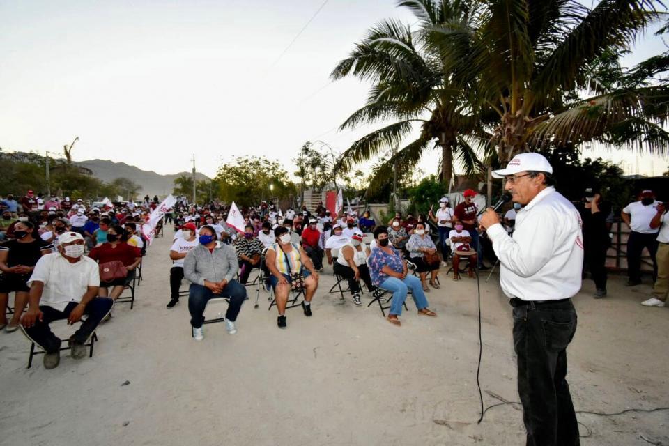 Candidato de Morena-PT por la alcaldía de Los Cabos