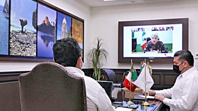 Reunión de Segob con gobernadores del país
