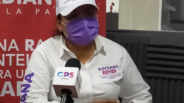 Candidata a diputada por el Partido Encuentro Solidario