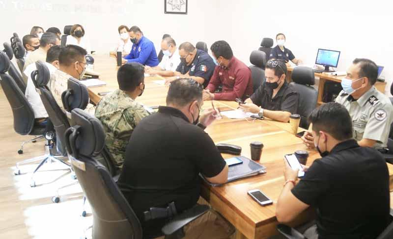 Seguridad en Los Cabos durante próxima jornada electoral