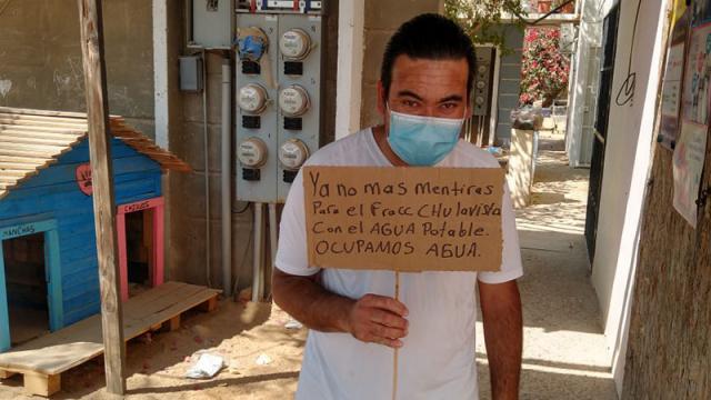 Vecinos de Chulavista piden agua potable