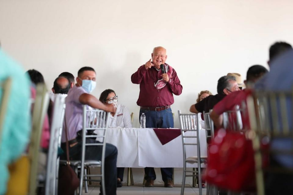 Candidato a la gubernatura de BCS por Morena-PT