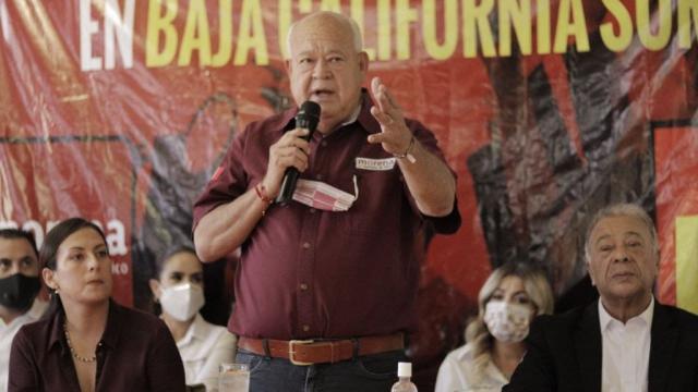 Candidato a la gubernatura por Morena-PT