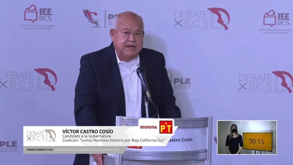 Candidato de Morena-PT
