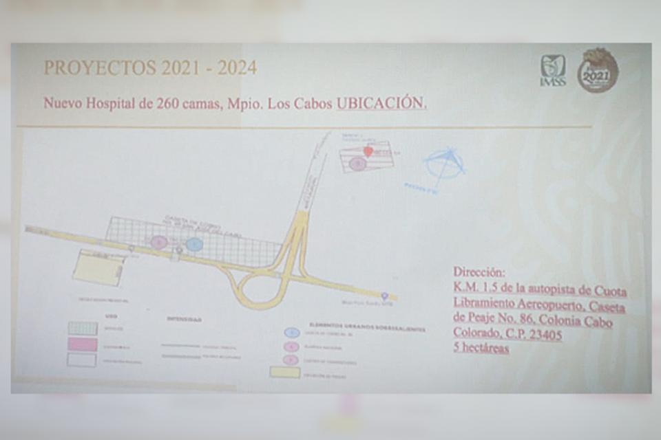 Dona XIII Ayuntamiento predio para nuevo hospital