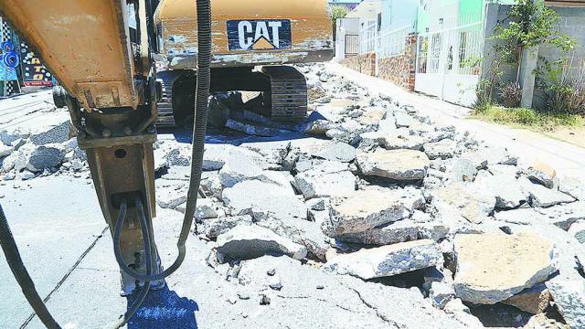 Cierre temporal de 10 importantes calles