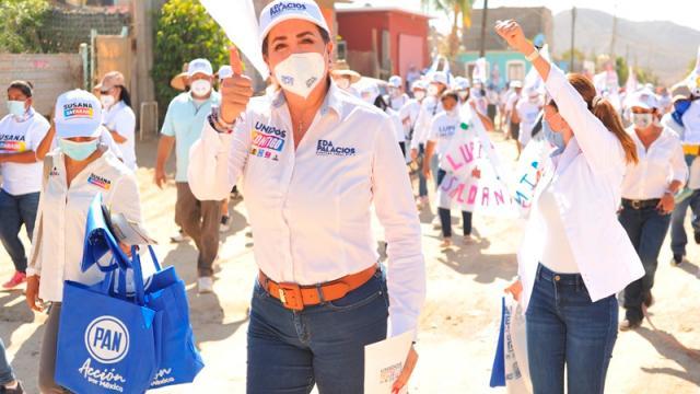 Ganaremos candidatos de Alianza Unidos Contigo: Eda Palacios