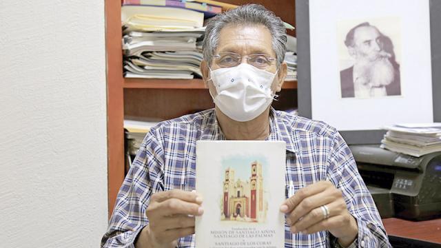 Distribuirán reimpresión del libro Misión de Santiago Aiñiní
