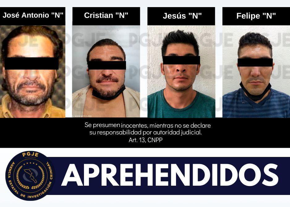 Aprehendidos por diversos delitos