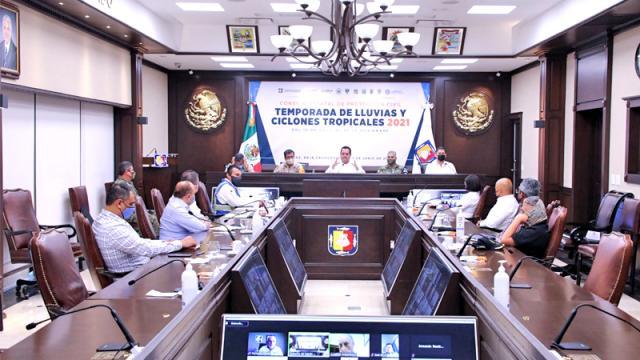 Instalan Consejo Estatal de Protección Civil
