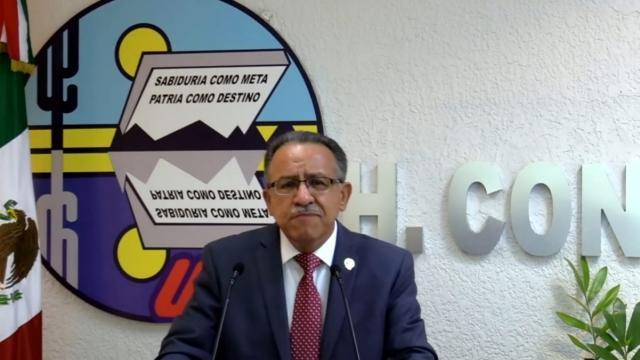 Dante Salgado, Rector de la UABCS, presenta Segundo Informe