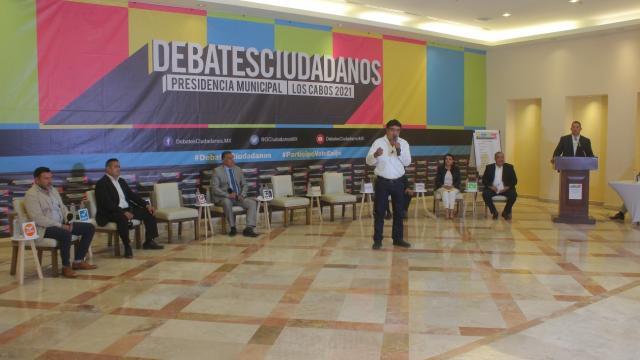 Debate de Coparmex con candidatos a la alcaldía de Los Cabos