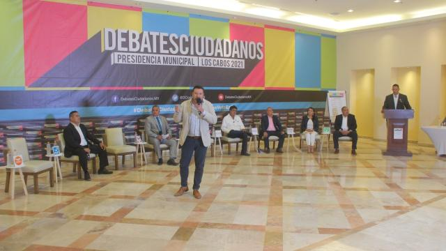 Debate de Coparmex de candidatos a la alcaldía de Los Cabos 2021