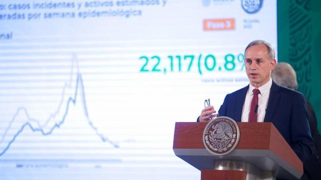 Subsecretario de Prevención y Promoción de la Salud en conferencia de prensa sobre el repunte de contagios en el país