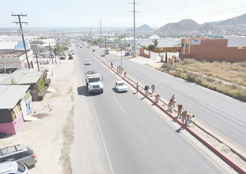 Mejoran imagen urbana de Los Cabos