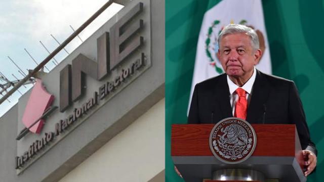 INE consideró que AMLO ha formado parte de manera ilícita en el debate político-electoral.