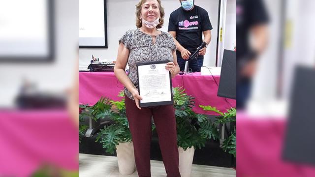 Mercedes Maciel es reconocida como diputada
