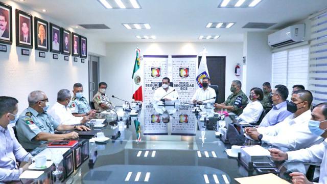 Definen operativo de seguridad durante jornada electoral