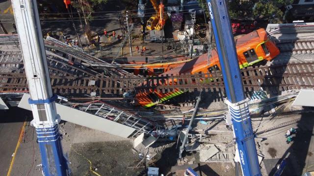 Fallas en la construcción causaron colapso del Metro: NYT